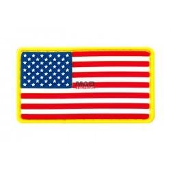 Parche de PVC Bandera EEUU (USA)