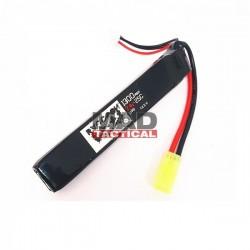 Batería Li-Po Raccoon 7.4V 1300 mAh 25C tubo